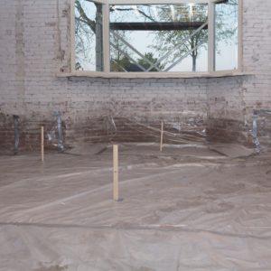 schuimbeton renovatievloer aanleggen