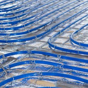 schuimbeton vloer met vloerverwarming