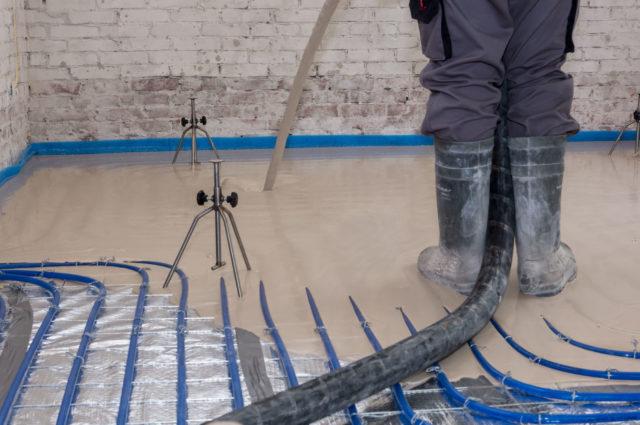 Een anhydriet dekvloer heeft vele voordelen